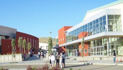 District High School in California