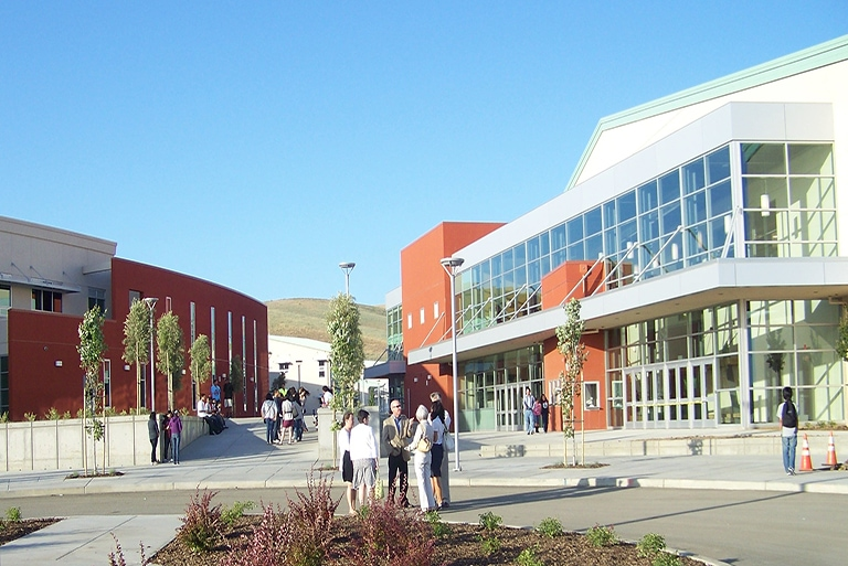 District High School in California
