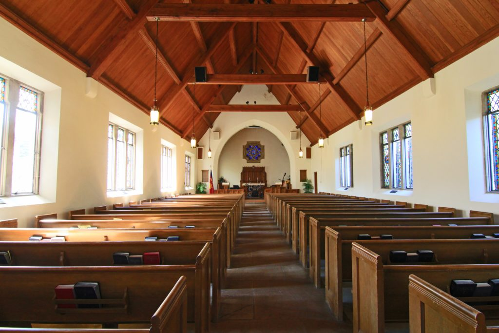 inside of a beautiful church buildings for sale