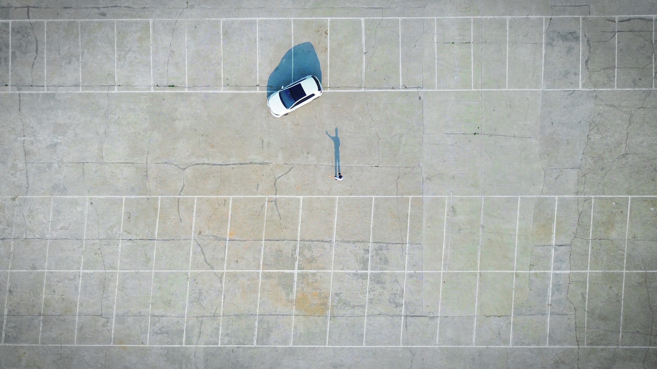 empty car lot - ideal property to turn into affordable housing in california